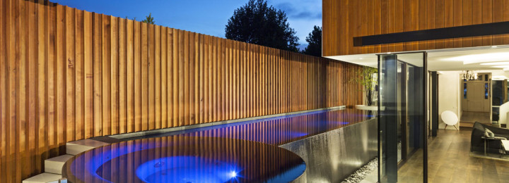Gold Award – Best Residential Concrete Pool and Spa Combination